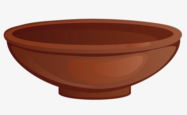 Bowl clipart cartoon. Brown rice png image