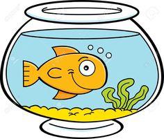 Cute fish clipartfest no. Aquarium clipart bowl