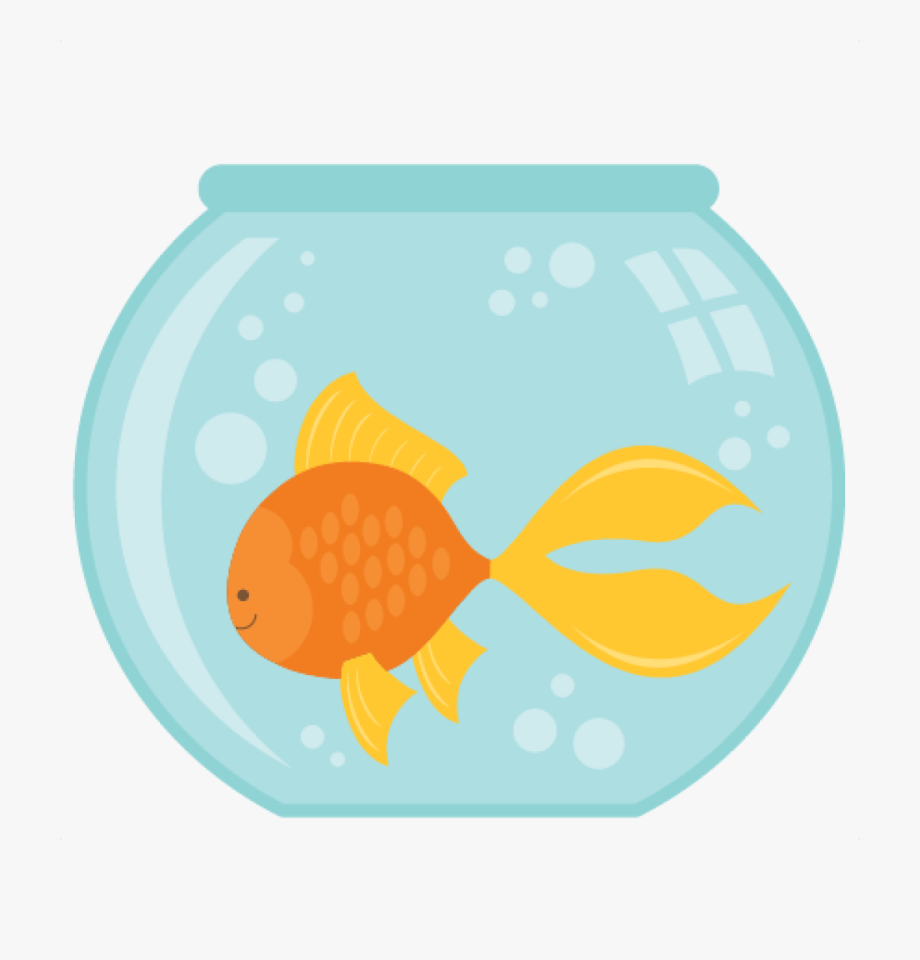 Fish silhouette at getdrawings. Fishing clipart bowl