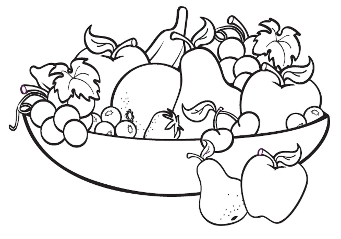 Fruit Drawings Clip Art