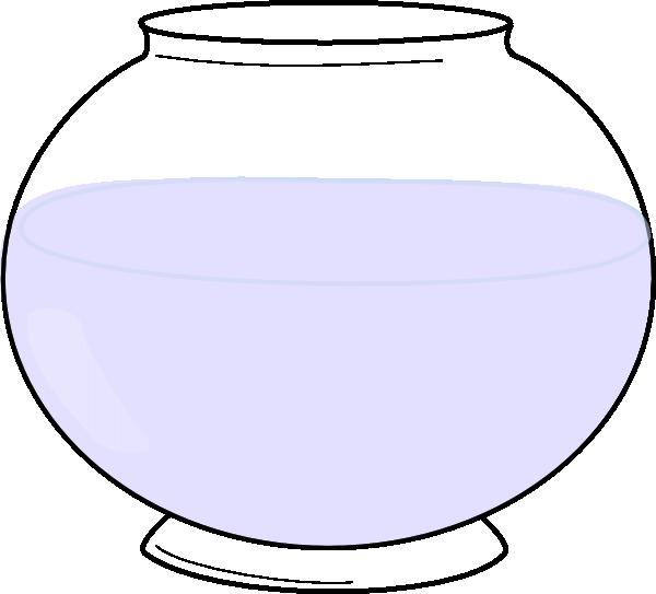 Fishbowl clipart vector. Glass bowl clip art