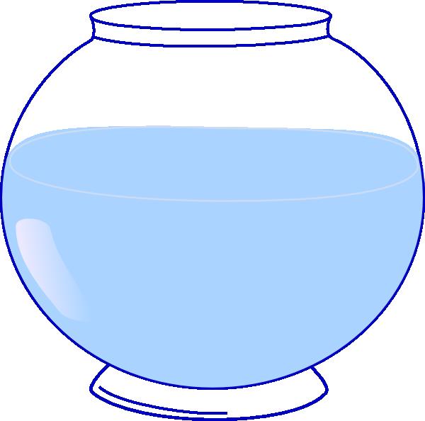 Water clipart fish. Bowl clip art at