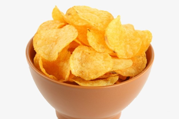 Of potato snacks eater. Chips clipart bowl chip