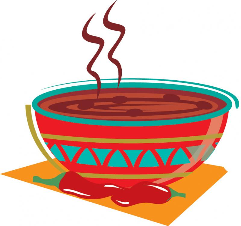 Chili clipart bowl chili. St george island approved