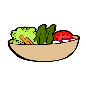 Cliparts of free download. Bowl clipart salad bowl