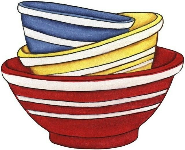 Bowl clipart stack bowl.  best images on