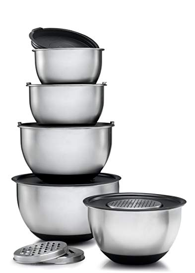 Bowl clipart stack bowl. Amazon com sagler stainless