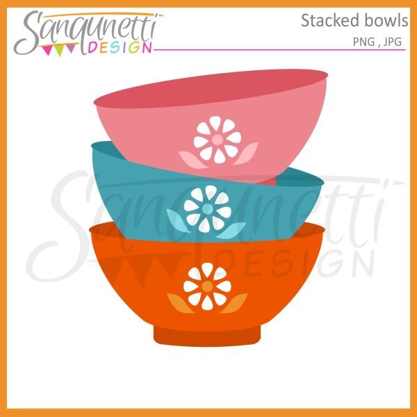 Bowl clipart stack bowl.  best food and