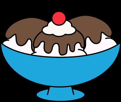Bowl clipart sundae. Ice cream clip art