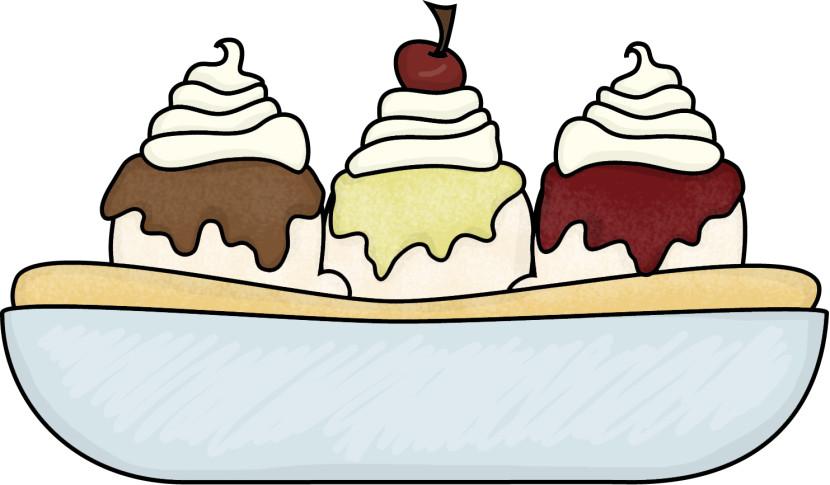 Ice cream clipartix. Bowl clipart sundae