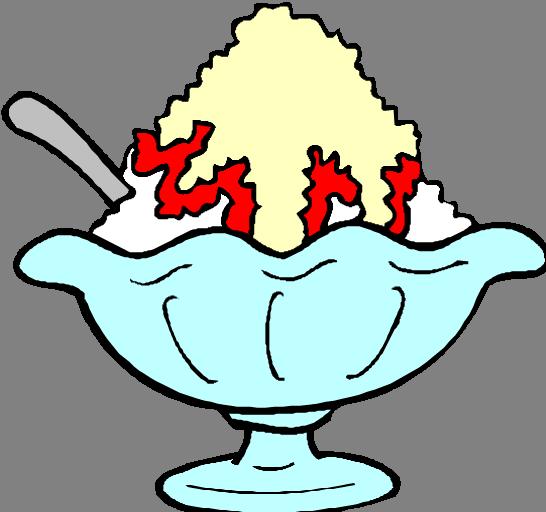 Ice cream panda free. Bowl clipart sundae