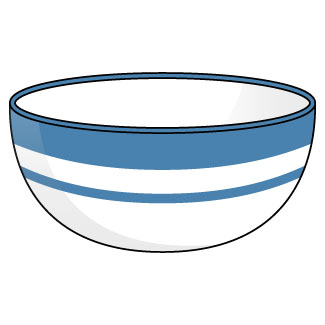 Bowl clipart. Cilpart creative designs inch