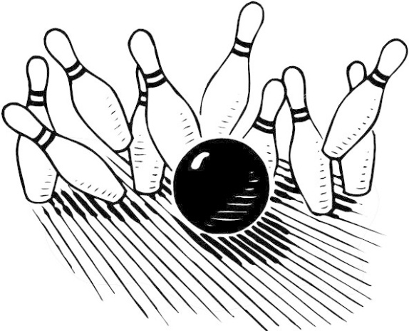 Bowling clipart. Free pictures clipartix sports