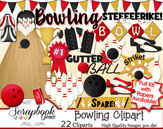 Png files instant download. Bowling clipart banner
