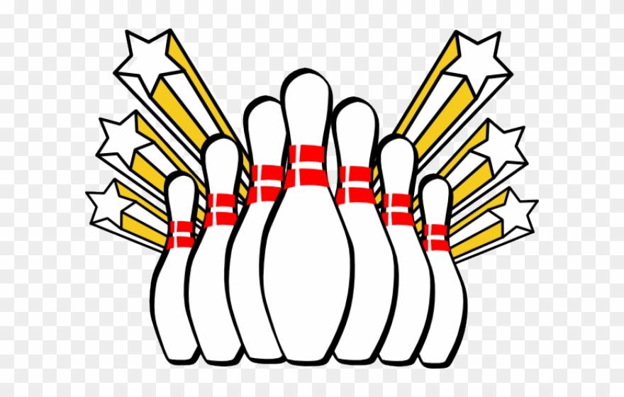 Clip art pins png. Bowling clipart banner