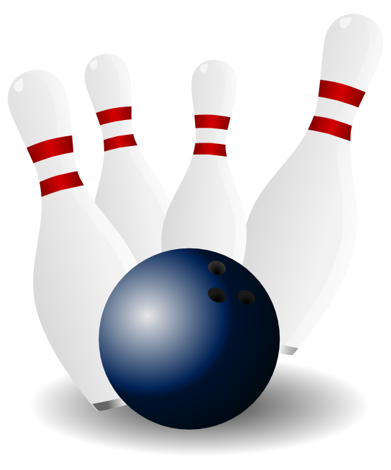 Kids clipart bowling. Image of alley clip