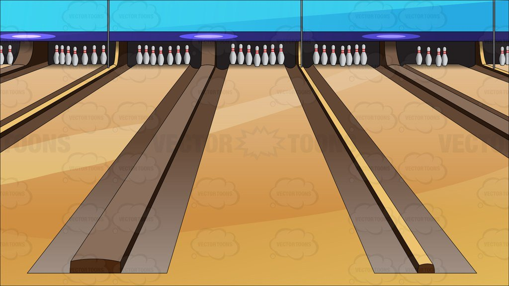 Bowling clipart bowling alley. Lanes background