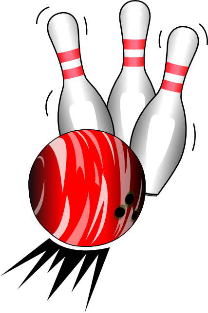 Image of alley and. Bowling clipart bowling ball