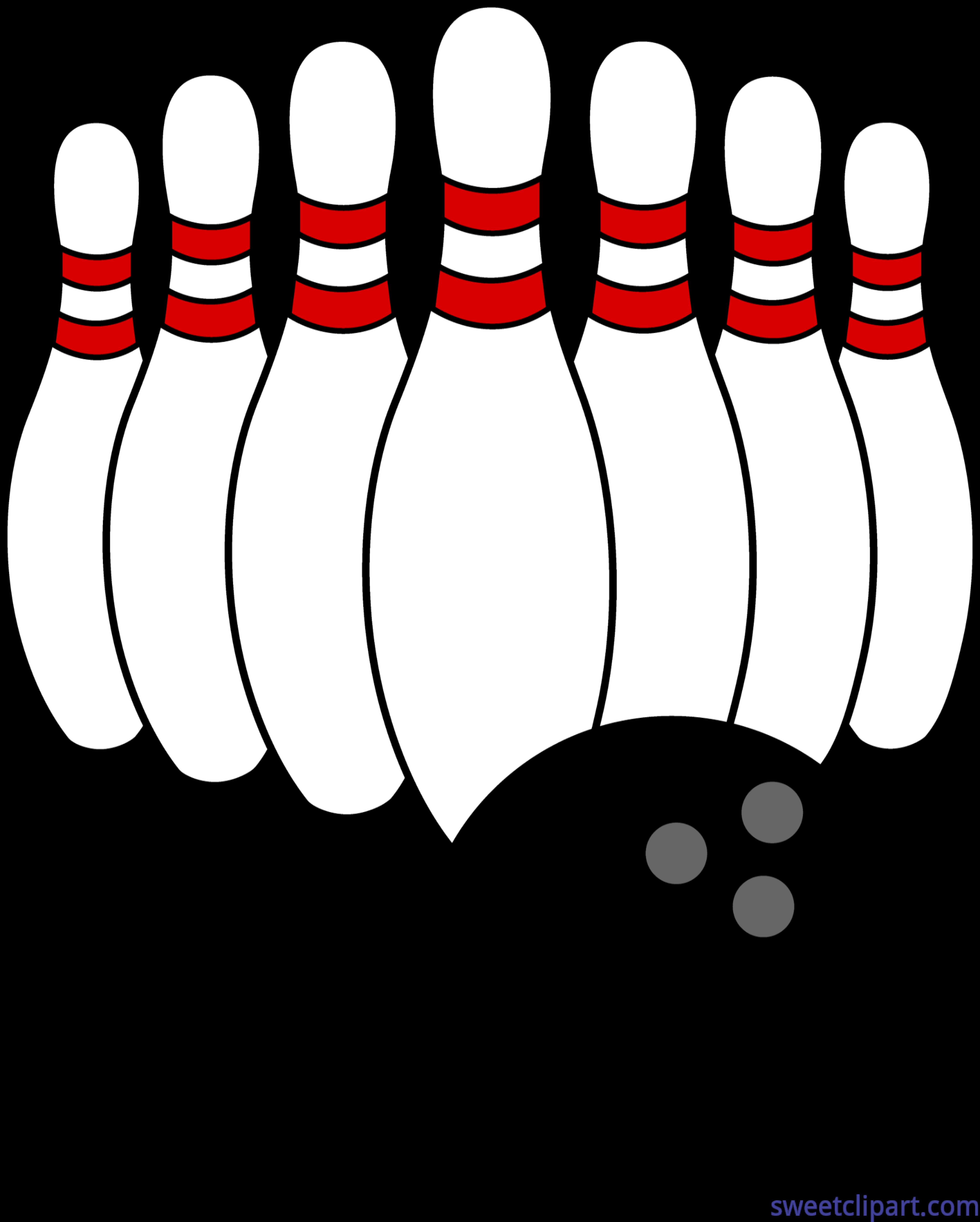 Clipart boy bowling. Ball and pins clip