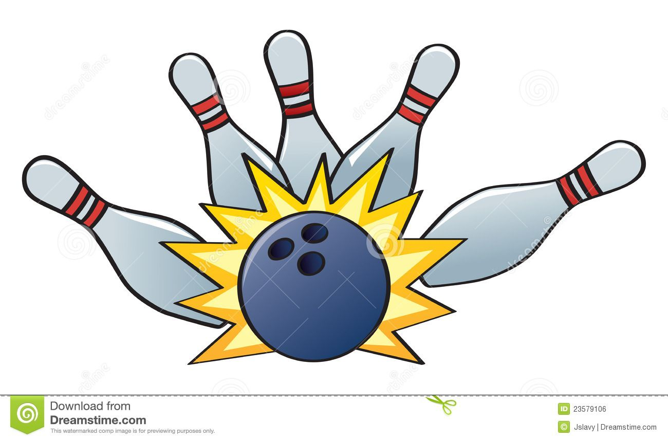 Bowling clipart bowling game. Alley lane strike royalty