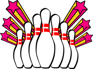 Bowling clipart bowling game. Free sports clip art