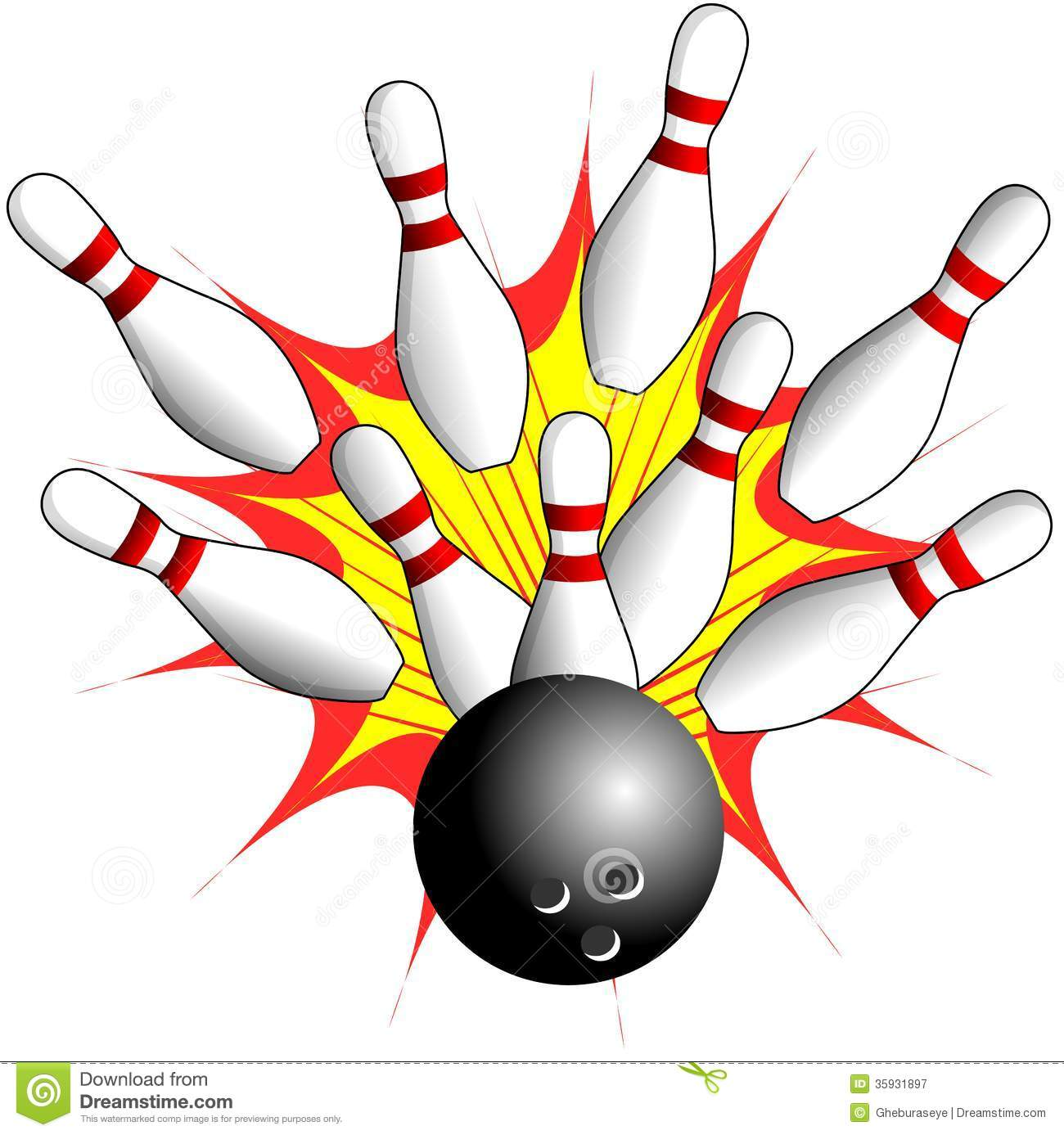free clipartlook. Bowling clipart bowling game