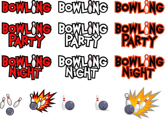best images on. Bowling clipart bowling night