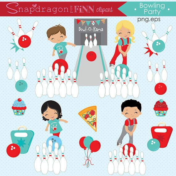 Kids clip art papers. Bowling clipart bowling party bowling