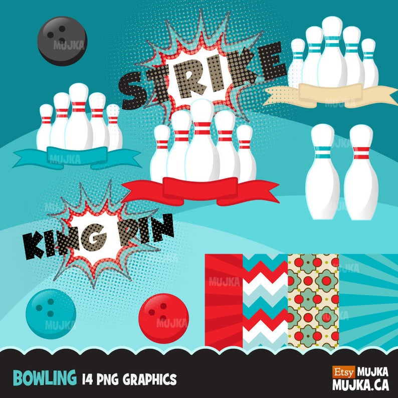 Bowling clipart bowling party bowling. Graphics ball pins strike