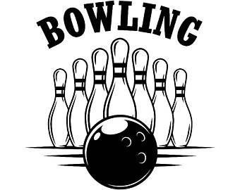 Logo svg etsy ball. Bowling clipart bowling tournament