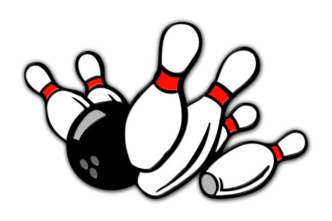 Woodbury blazing stars special. Bowling clipart bowling tournament