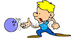 Cartoon royalty free picture. Bowling clipart boy
