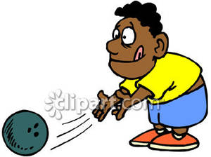 Bowling clipart boy. African american royalty free