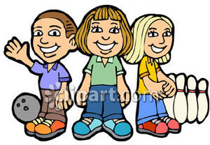 Bowling clipart child. Children royalty free picture