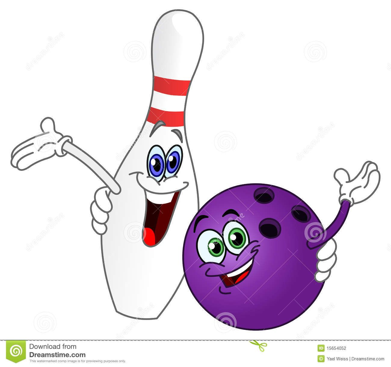 Clip art bing images. Bowling clipart cute