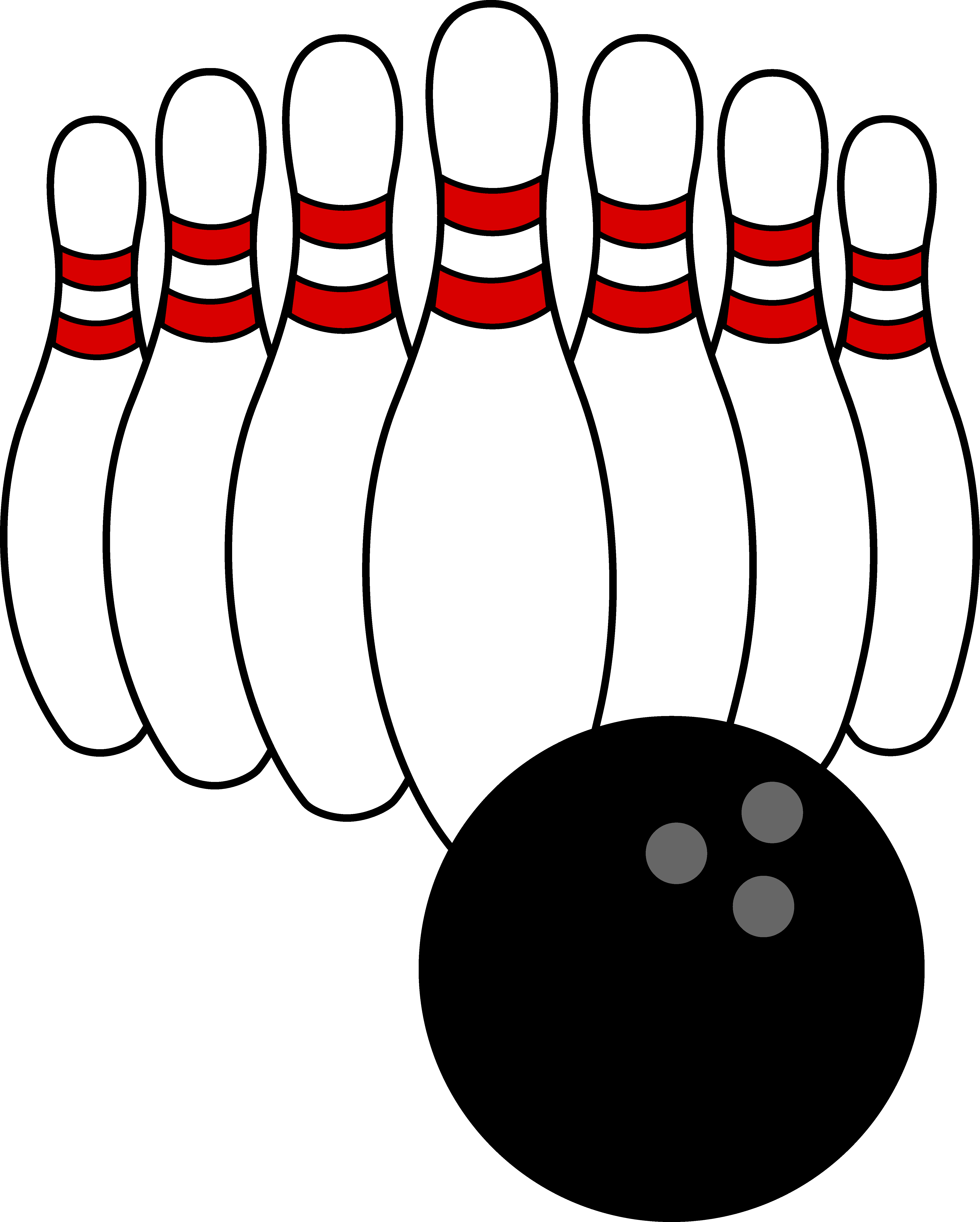 Pizza clipart bowling. Clip art ball and