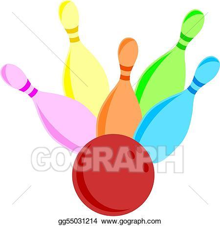 Bowling clipart drawing. Ten pin gg gograph