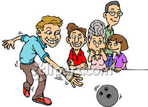 Bowling clipart family bowling. A royalty free picture
