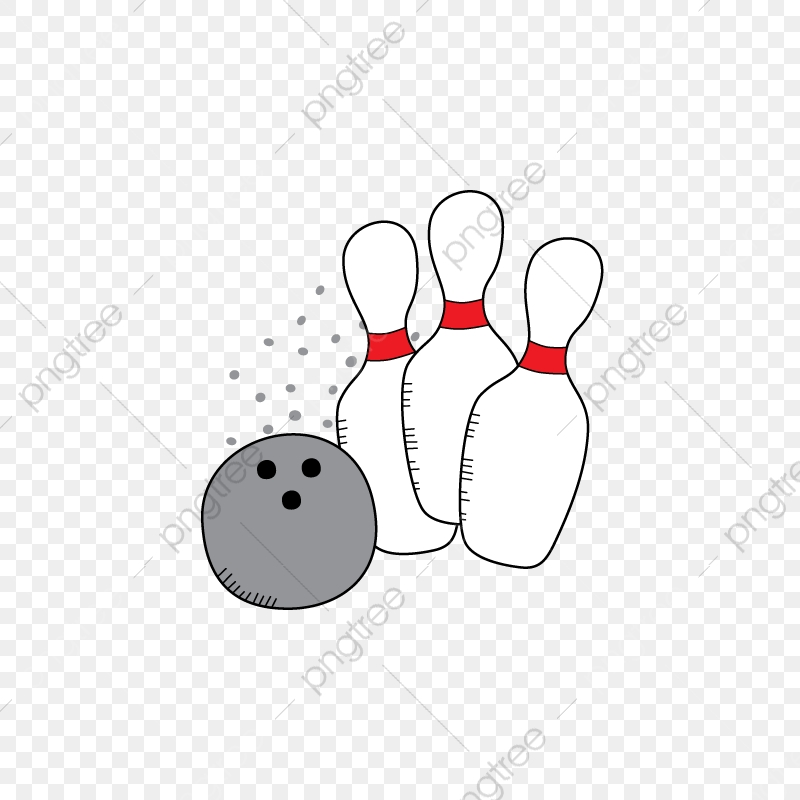Bowling clipart file. Ball and pin pictures