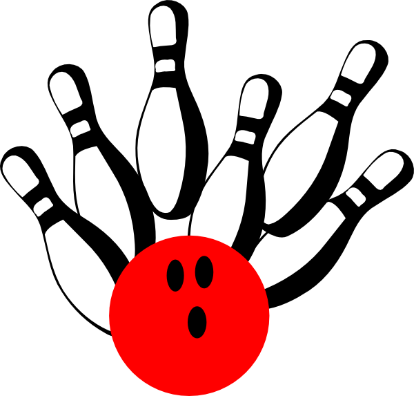 Bowling . Free clipart animated
