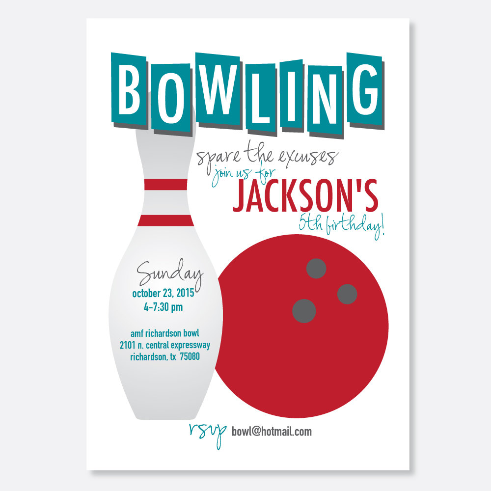 Free pin invitations download. Bowling clipart invitation