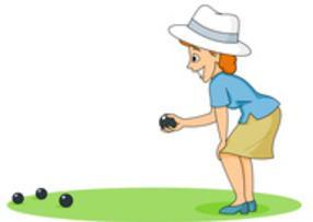 Modbury club . Bowling clipart lawn bowling