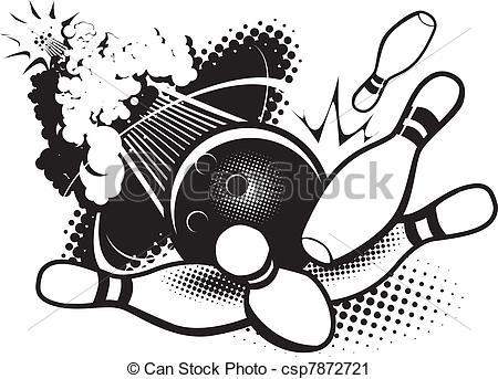 Logos . Bowling clipart logo
