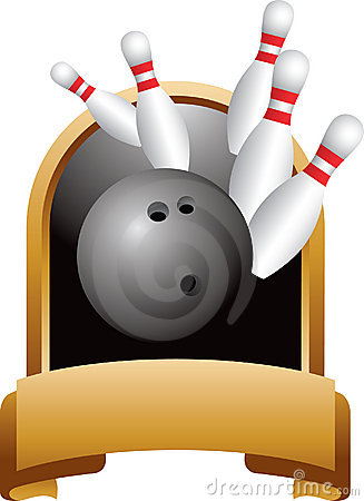 Trophy pencil and in. Bowling clipart medal