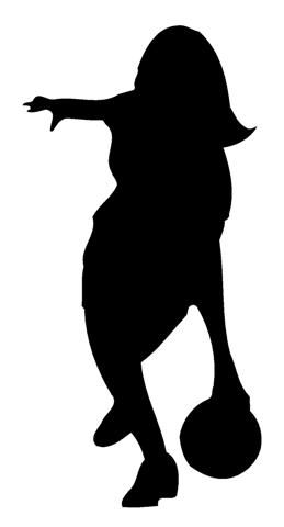 Female military at getdrawings. Bowling clipart silhouette
