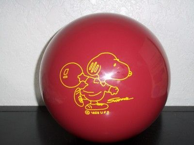 Bowling clipart snoopy. Brunswick ball rare new