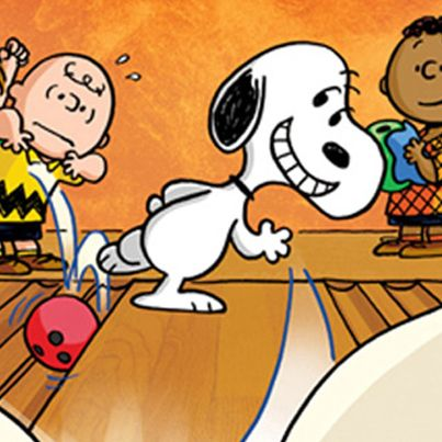 Let the good times. Bowling clipart snoopy