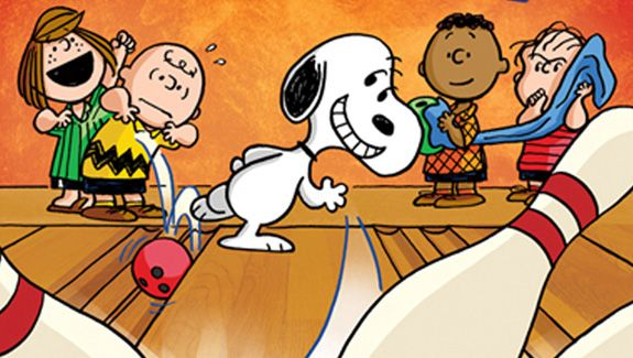 Bowling clipart snoopy. Friends cartoon