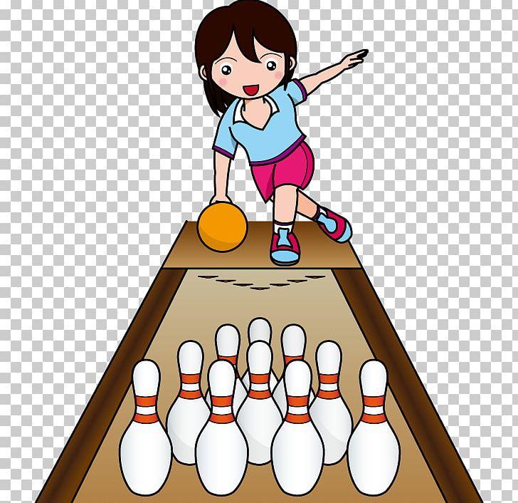 Ten pin ball game. Bowling clipart sport