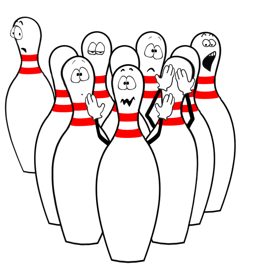 Funny move emoticon pictures. Bowling clipart summer
